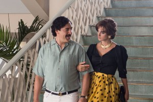 "Javier Bardem and Penelope Cruz in ""Loving Pablo"""
