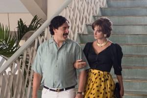 "Javier Bardem and Penelope Cruz in ""Loving Pablo"""