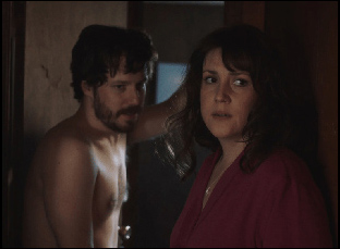 "John Gallagher Jr. and Melanie Lynskey in ""Sadie"""