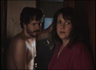"John Gallagher Jr. and Melanie Lynskey in ""Sadie"""