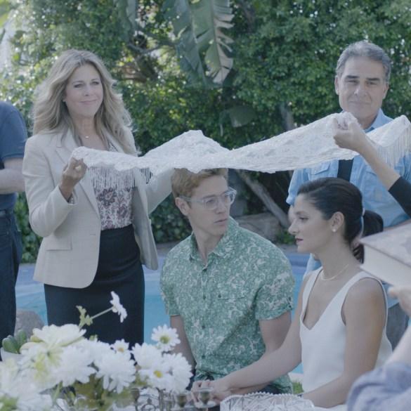"A scene from Sara Zandieh's ""Simple Wedding"""