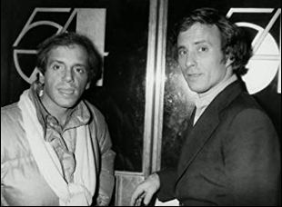 "Steve Rubell and Ian Schrager in ""Studio 54"""