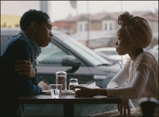 "Kelvin Harrison Jr. and Zoe Renee in ""Jinn"""