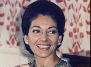 """Maria Callas in """"Maria By Callas"""""""