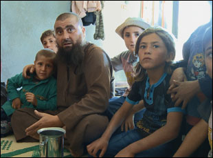"A scene of Abu Osama from Talal Derki's ""Of Fathers and Sons"""