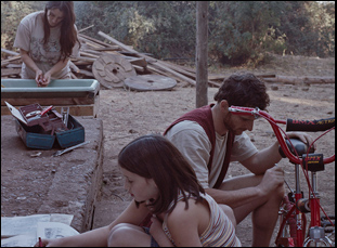 "A scene from Dominga Sotomayor's ""Too Late to Die Young"""