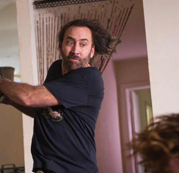 "Nicolas Cage in ""Between Worlds"""