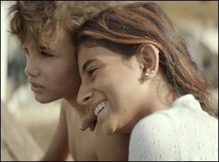 """Zain Al Rafeea and Cedra Izam in """"Capernaum"""""""
