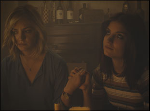 "Abby Elliott and Bridey Elliott in ""Clara's Ghost"""