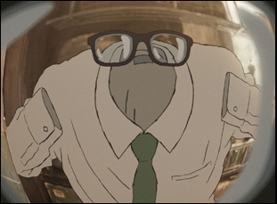 """A scene from Studio Ponoc's """"Modest Heroes"""" from Invisible"""