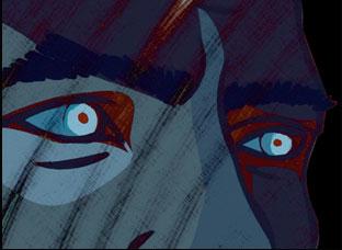 "A scene from Geoff Marslett's ""Phantom 52"""