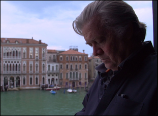"Steve Bannon in ""The Brink"""
