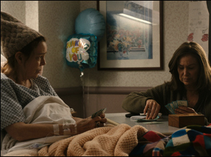 """Deidre O'Connell and Mary Kay Place in """"Diane"""""""