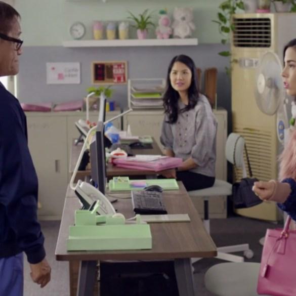 """Richard Ng, Lynn Chen and Anna Akana in """"Go Back to China"""""""