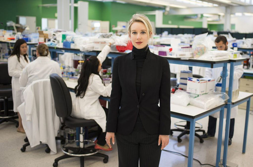 """Elizabeth Holmes in """"The Inventor: Out for Blood in Silicon Valley"""""""