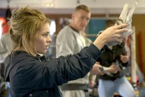 """Gemma Gillan in """"Scheme Birds"""""""