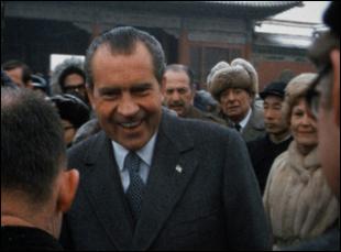 """Richard Nixon in """"Our Nixon"""""""
