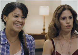 """Ana Ortiz and Gina Rodriguez in """"Sleeping With the Fishes"""""""