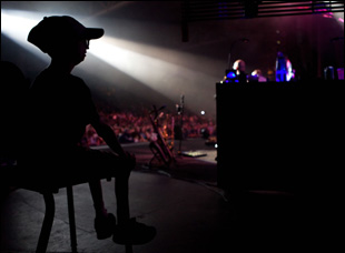 "Sam Berns at a Dave Matthews concert in ""Life According to Sam"""
