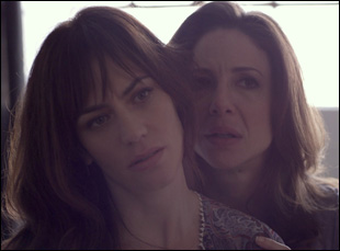 """Maggie Siff and Robin Weigert in Stacie Passon's """"Concussion"""""""