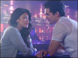 """Steven Strait and Gina Rodriguez in """"Sleeping With the Fishes"""""""