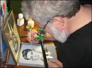 """Tim Jenison in """"Tim's Vermeer"""""""