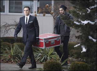 "Jay Baruchel and Matt Dillon in ""Art of the Steal"""
