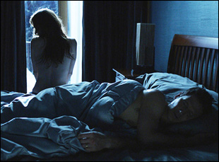 "Zoe Kazan and Mark Feurerstein in ""In Your Eyes"""