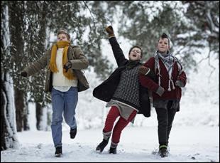 "Liv Lemoyne, Mira Barkhammar, Mira Grosin in ""We Are the Best"""
