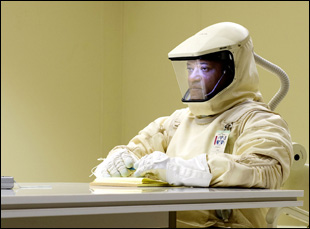 """Laurence Fishburne in """"The Signal"""""""