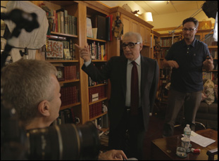 "Martin Scorsese and Steve James in ""Life Itself"""