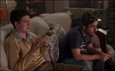 "Eddie Kaye Thomas and David Krumholtz in ""Harold and Kumar Go to White Castle"""