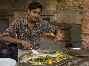 "Manish Dayal in ""The Hundred-Foot Journey"""