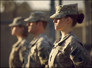 "Kristen Stewart in ""Camp X-Ray"""