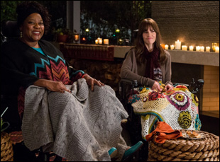 "Loretta Devine and Hilary Swank in ""You're Not You"""