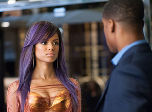 """Nate Parker and Gugu Mbatha-Raw in """"Beyond the Lights"""""""