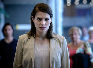 """Sallie Harmsen in """"Accused"""""""