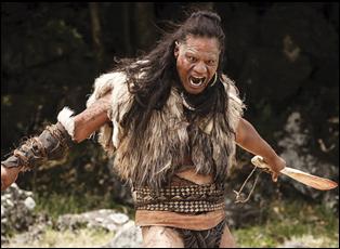 """Lawrence Makoare in """"The Dead Lands"""""""