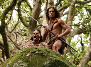 """James Rolleston and Lawrence Makoare in """"The Dead Lands"""""""
