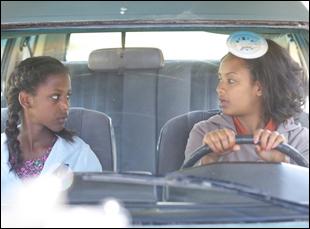 "Meron Getnet and Tizita Hagere in ""Difret"""