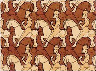 MC Escher Horsemen