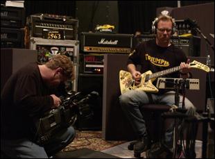 """James Hetfield in """"Metallica: Some Kind of Monster"""""""
