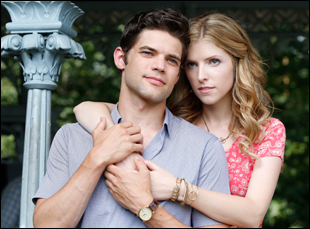"Anna Kendrick and Jeremy Jordan in ""The Last Five Years"""