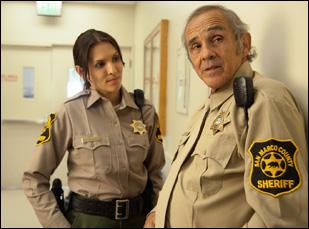 "Pepe Serna and Elisha Skorman in ""Man From Reno"""
