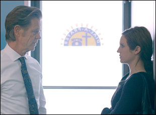 "William H. Macy and Brittany Snow in ""Dial-A-Prayer"""