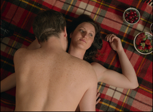 """Kate Box and Patrick Brammall in """"The Little Death"""""""