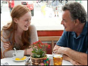 "India Munuez and Ray Wise in ""The Breakup Girl"""