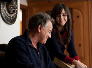 """Shannon Woodward and Ray Wise in """"The Breakup Girl"""""""
