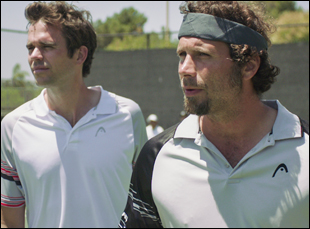 "David Walton and Jeremy Sisto in ""Break Point"""