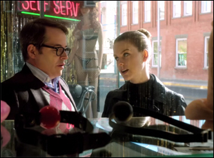 """Matthew Broderick and Alice Eve in """"Dirty Weekend"""""""